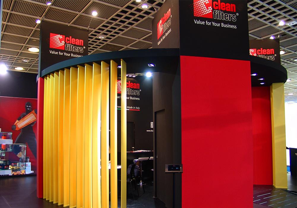 Saletta privata nello stand Delgrosso alla fiera Automechanika 2014 di Francoforte