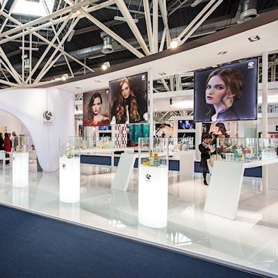 Stand Barex al salone Cosmoprof 2015 alla fiera di Bologna