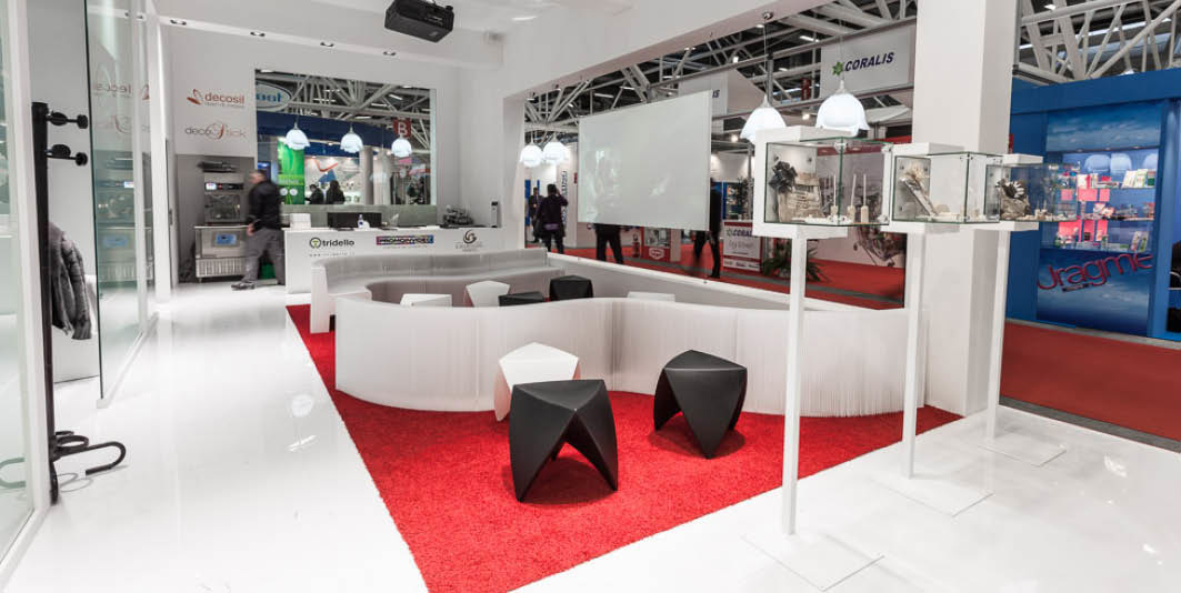 Act events stand esseoquattro alla fiera marca di for Sedie di marca